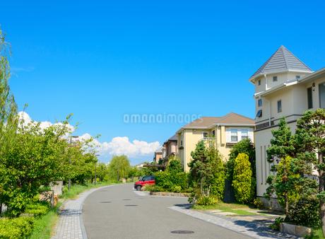 関西の住宅の写真素材 [FYI01784268]