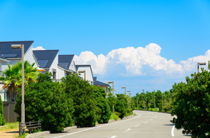 関西の住宅の写真素材 [FYI01784273]