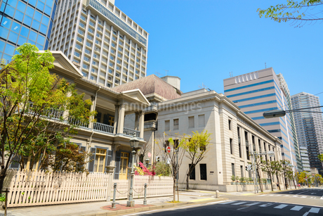 神戸旧居留地の街並みの写真素材 [FYI01784290]