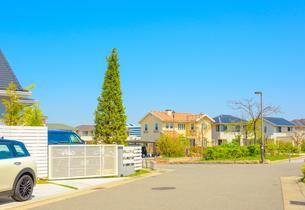 関西の住宅の写真素材 [FYI01784306]