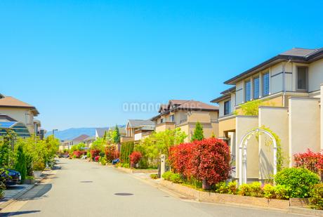 関西の住宅の写真素材 [FYI01784307]