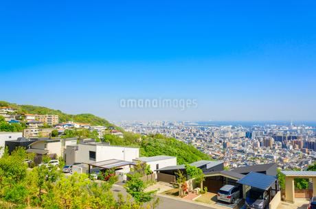 関西の住宅と阪神間の街並みの写真素材 [FYI01784308]