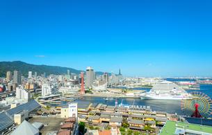 神戸港の景観の写真素材 [FYI01784317]