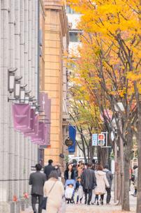 神戸旧居留地の街並みの写真素材 [FYI01784319]