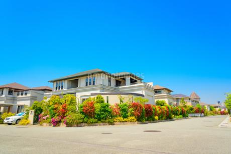 関西の住宅の写真素材 [FYI01784332]
