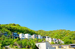 関西の住宅の写真素材 [FYI01784337]