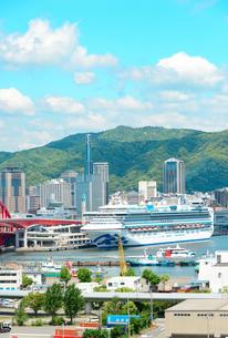 神戸港の景観の写真素材 [FYI01784351]