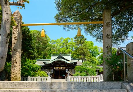 芦屋神社の写真素材 [FYI01784356]