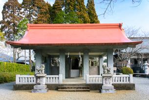 知覧護国神社の写真素材 [FYI01784358]