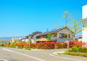 関西の住宅の写真素材 [FYI01784369]
