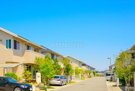 関西の住宅の写真素材 [FYI01784390]