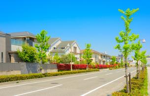関西の住宅の写真素材 [FYI01784396]