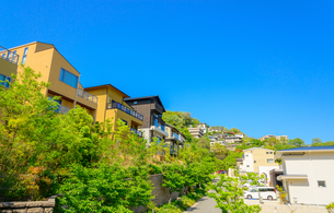 関西の住宅の写真素材 [FYI01784409]