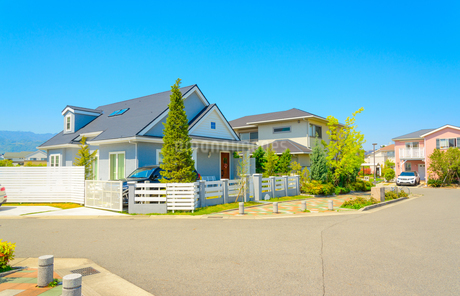 関西の住宅の写真素材 [FYI01784529]