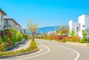 関西の住宅の写真素材 [FYI01784530]