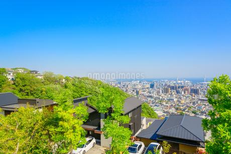 関西の住宅と阪神間の街並みの写真素材 [FYI01784567]