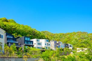 関西の住宅の写真素材 [FYI01784588]