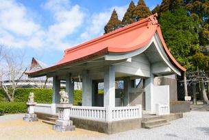 知覧護国神社の写真素材 [FYI01784614]