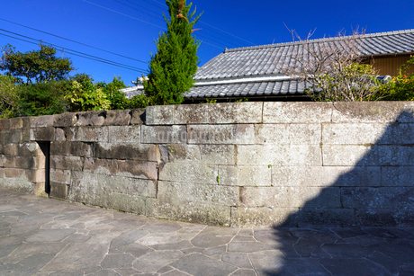 密貿易屋敷跡の写真素材 [FYI01784713]