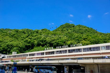 山陽新幹線 新神戸駅の写真素材 [FYI01784753]