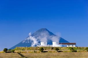 山川地熱発電所の写真素材 [FYI01784762]