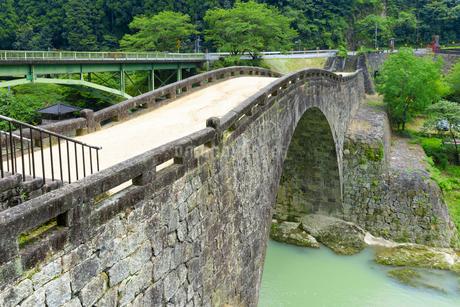 夏の霊台橋の写真素材 [FYI01784872]