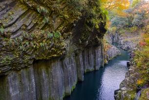 秋の高千穂峡の写真素材 [FYI01785125]