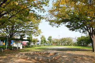 向街児童公園の写真素材 [FYI01785343]