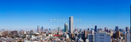 東京都パノラマの写真素材 [FYI01785467]
