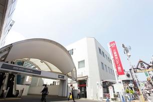 東急線元住吉駅の写真素材 [FYI01787182]