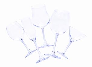 5個のグラスの写真素材 [FYI01788212]