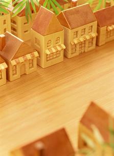 木の家の店舗の写真素材 [FYI01788455]