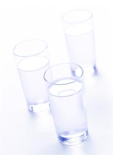 グラスの水の写真素材 [FYI01788489]