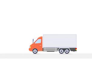 大型トラックの写真素材 [FYI01788501]
