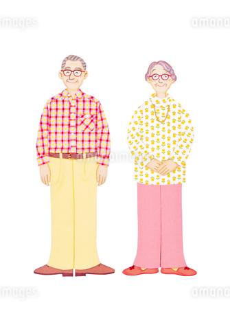 老夫婦の写真素材 [FYI01788823]