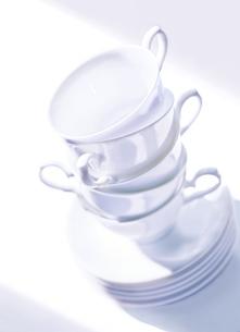 5個のコーヒーカップの写真素材 [FYI01788888]