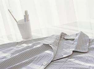 パジャマと歯ブラシの写真素材 [FYI01788921]