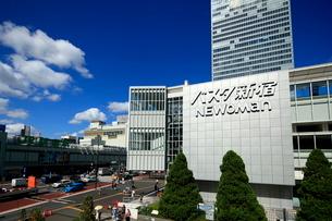 新宿駅の写真素材 [FYI01789090]