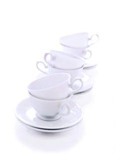 6個のコーヒーカップの写真素材 [FYI01789314]