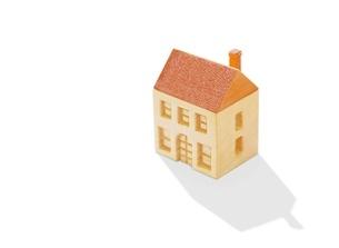 木の家のイラスト素材 [FYI01789463]