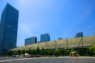 東京駅八重洲口の写真素材 [FYI01789852]