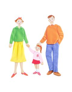 家族3人の写真素材 [FYI01789984]