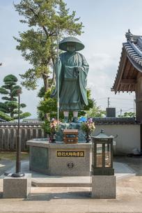 5番地蔵寺修行大師像の写真素材 [FYI01790050]