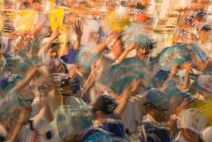 阿波踊り総踊りの写真素材 [FYI01790079]