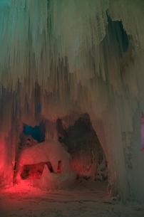 2015層雲峡氷瀑祭りの写真素材 [FYI01790157]
