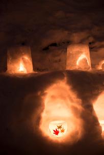 2015小樽雪あかりの路の写真素材 [FYI01790214]