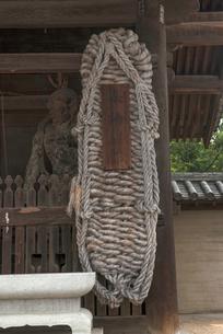 86番 志度寺 大わらじの写真素材 [FYI01790263]