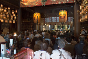 1番 霊山寺 本堂の写真素材 [FYI01790305]