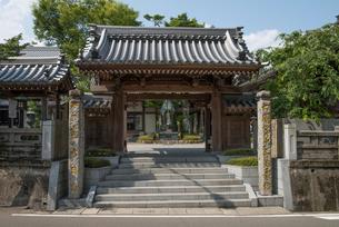 13番大日寺山門の写真素材 [FYI01790386]