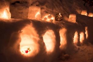 2015小樽雪あかりの路の写真素材 [FYI01790431]